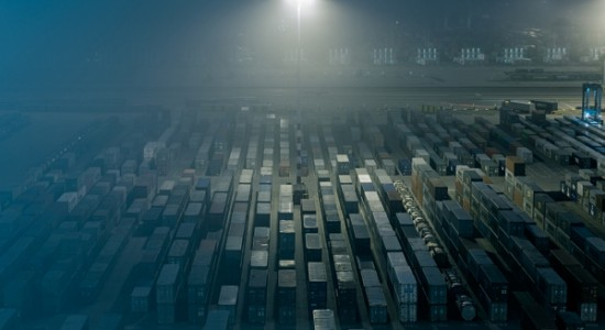 Cargo containers photography by Jakob Wagner