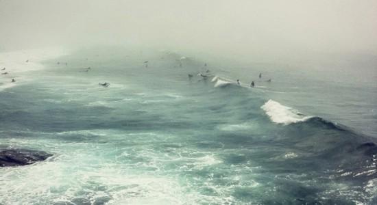 Sydney Bondi Beach haze by Irenaeus Herok