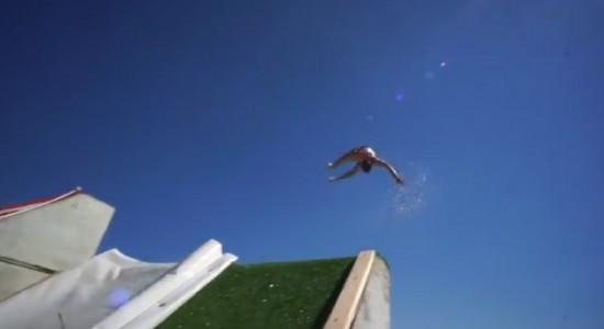 Epic Slip 'N Slide Pool Party!!
