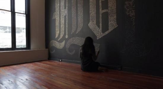 Flourish Typography Project by Dana Tanamachi