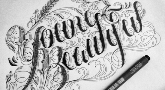 Hand lettering and Typography by Raul Alejandro