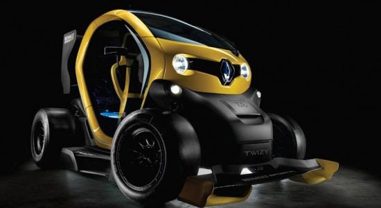 Renault Twizy F1 electric concept