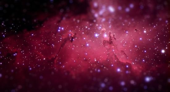 Microscopic space by Haari Tesla