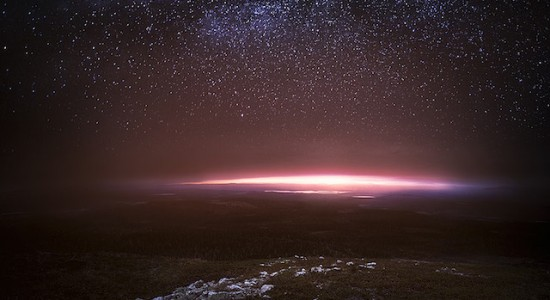 Night sky in Finland by Mikko Lagerstedt