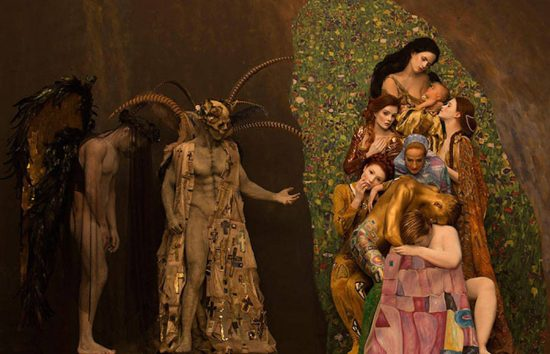 klimt-real-life-models
